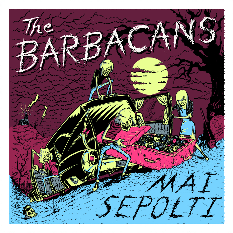 CD Cover The Barbacans - Mai Sepolti