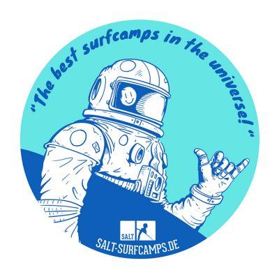 Salt-Surfcamps Sticker